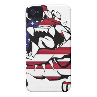 US Bulldog Case-Mate iPhone 4 Fundas