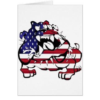US Bulldog Tarjeta