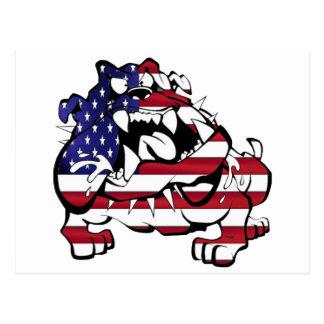 US Bulldog Tarjetas Postales