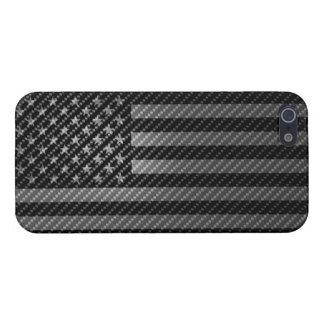 USA Flag Cover iPhone5 Carbon Fiber iPhone 5 Funda