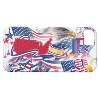 USA Flag iPhone 5 Cárcasa