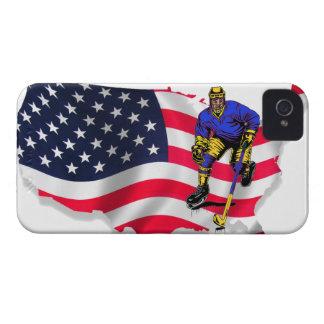 USA HOCKEY CARCASA PARA iPhone 4 DE Case-Mate