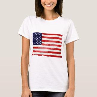USA OLD FLAG CAMISETA