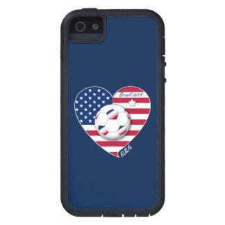 USA Soccer National Team Fútbol de Estados Unidos Funda Para iPhone SE/5/5s