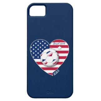 USA Soccer National Team Fútbol de Estados Unidos iPhone 5 Cárcasas