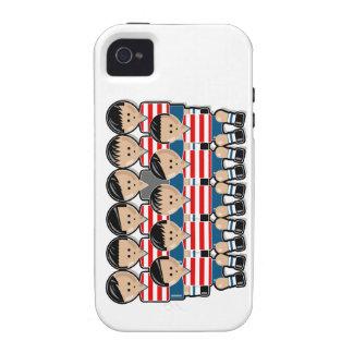 USA soccer team Case-Mate iPhone 4 Carcasas