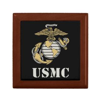 USMC [plantilla] Joyero Cuadrado Pequeño