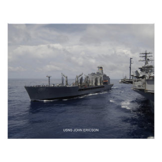 USNS Juan Ericson Póster