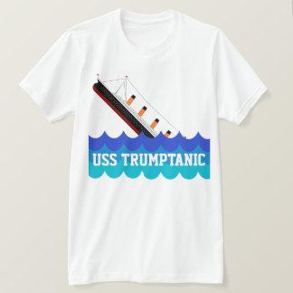 """""""USS divertido Trumptanic"""" con la nave de Camiseta"""
