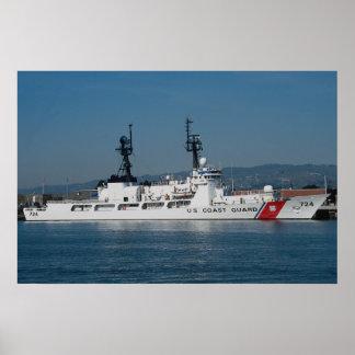 """USS el Yukón"""", engrasador del comando del sealift Póster"""