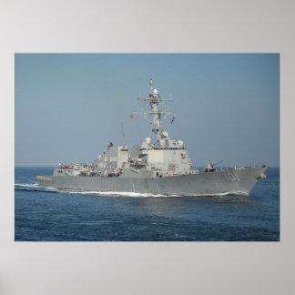 USS Gridley (DDG 101) Póster