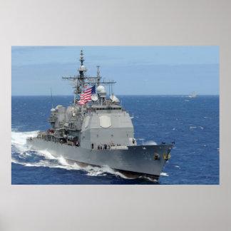 USS Princeton (CG 59) Póster
