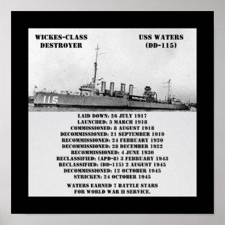 USS riega (DD-115) Impresiones