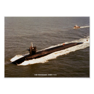 USS TENNESSEE PÓSTER