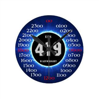 USS Wainwright (DD-419) Reloj Redondo Mediano