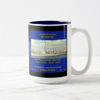 USS Williamson (DD-244) Taza De Café