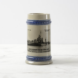 USS Woodworth (DD-460) Tazas De Café