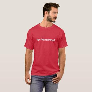 Usted camiseta de la isla del amor que bromea