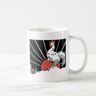 usted crow gif tazas de café