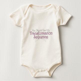 Usted debe ver mi secuencia de la transformación body para bebé
