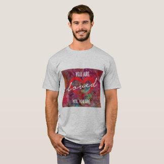 Usted es camiseta amada