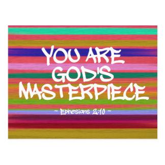 Usted es cita de Ephesians de la obra maestra de Postal