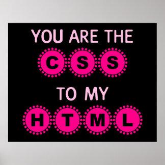 Usted es el CSS a mi HTML Impresiones