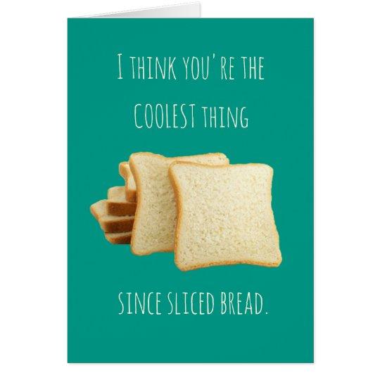 Usted es el saludo más fresco del cumpleaños de la tarjeta de felicitación
