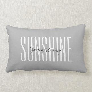 Usted es mi almohada del lumbar de la SOL
