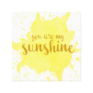 Usted es mi arte de la pared de la sol