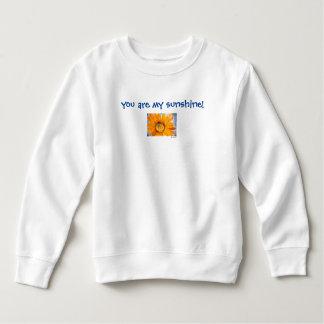 Usted es mi camiseta del niño del girasol de la