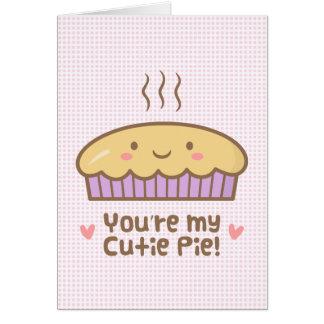 Usted es mi Doodle lindo de la empanada de Cutie Tarjeta De Felicitación