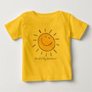 ¡Usted es mi sol! Camisa infantil
