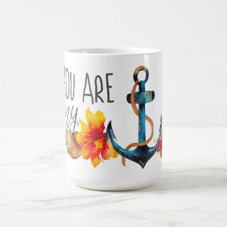 Usted es mi taza del ancla