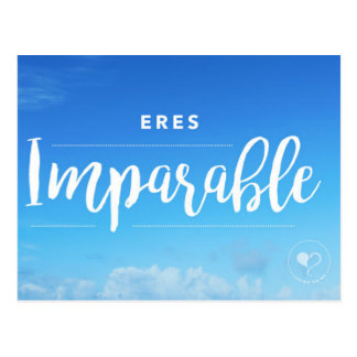 Usted es postal (española) imparable