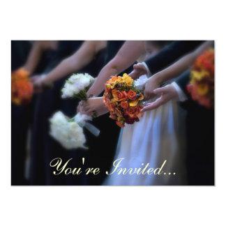 Usted es… ramos invitados del boda invitaciones personales