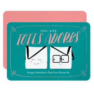 Usted es tarjeta del día de San Valentín de la Invitación 8,9 X 12,7 Cm