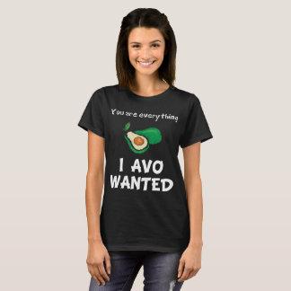 Usted es todo amante querido Avo del aguacate de I Camiseta