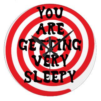 Usted está consiguiendo el reloj muy soñoliento