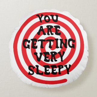 Usted está consiguiendo la almohada muy soñolienta