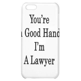 Usted está en buenas manos que soy abogado