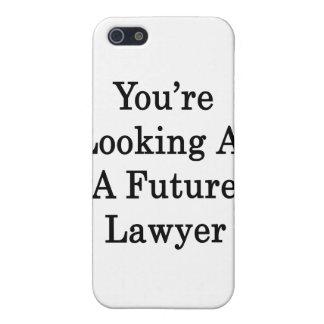Usted está mirando a un abogado futuro iPhone 5 carcasas