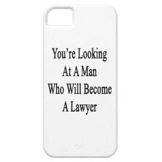 Usted está mirando a un hombre que haga abogado iPhone 5 Case-Mate cárcasa
