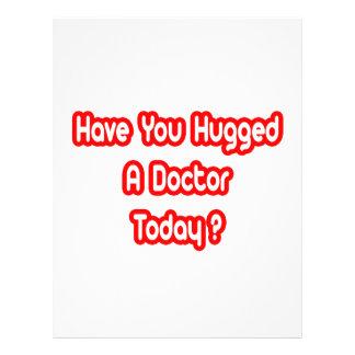 ¿Usted ha abrazado a un doctor Today? Tarjeta Publicitaria