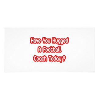 ¿Usted ha abrazado a un entrenador de fútbol hoy? Tarjetas Personales
