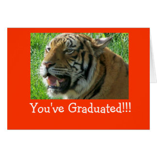 ¡Usted ha graduado!!! Tarjeton