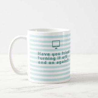 ¿Usted ha intentado darle vuelta por intervalos Taza De Café