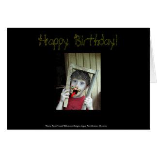 Usted ha sido tarjeta de cumpleaños capítulo