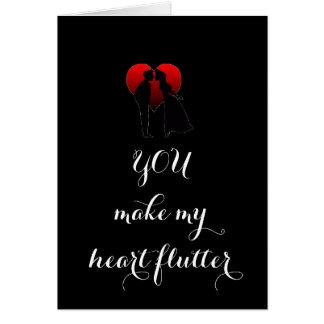 USTED HACE MI TARJETA DEL CORAZÓN FLUTTER=LOVE