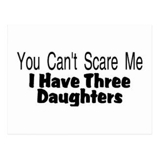 Usted linado me asusta que tengo tres hijas (2) postal